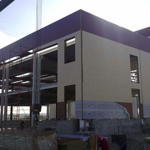 Строительство быстровозводимых зданий из металлоконструкций и сэндвич-панелей